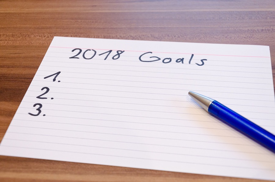 goals 2018 new year marketing campaign