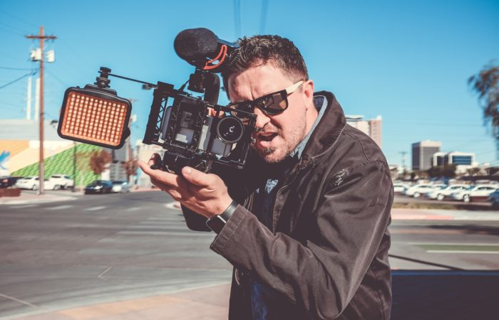 video production company cameraman