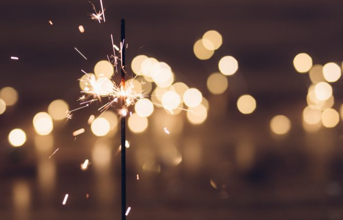 sparkler new year marketing campaign 2018