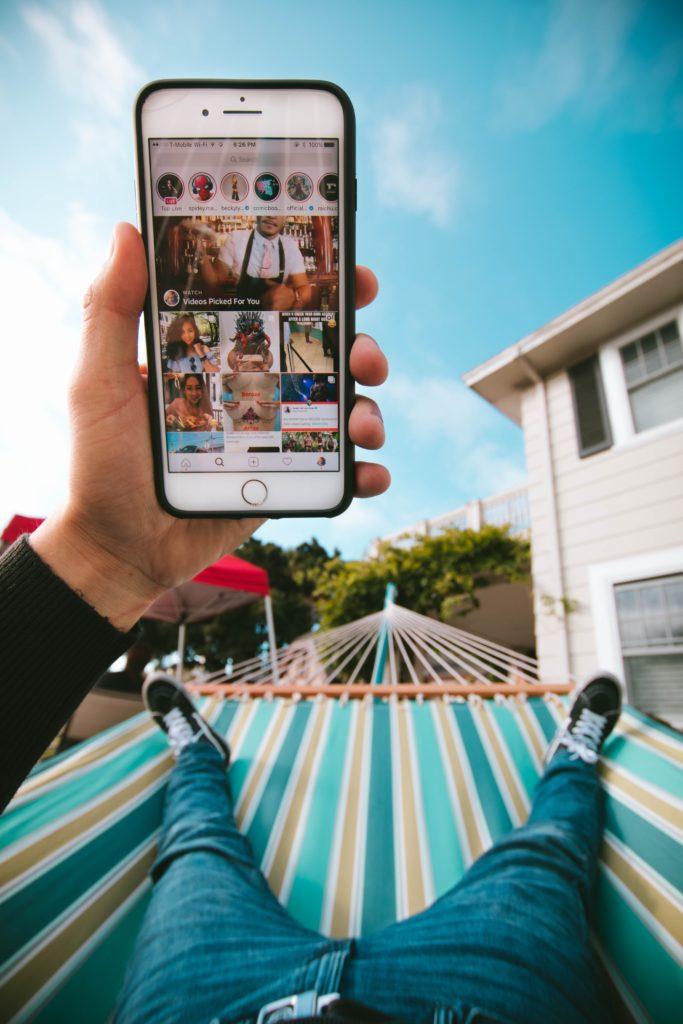 video marketing IGTV hammock